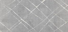 Kusový koberec Ambiance 81253-01 Silver - 80x150 cm