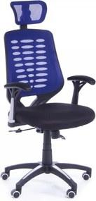 Kancelárska stolička Stuart modrá