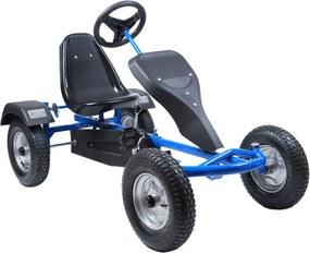 2-miestna detská motokára Go Kart - modrá 24501