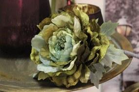 Zelená ruža na stopke 75cm