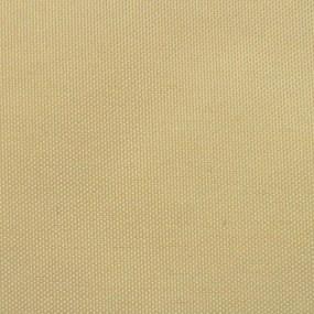 vidaXL Tieniaca plachta, oxford, trojuholníková 3,6x3,6x3,6 m, béžová