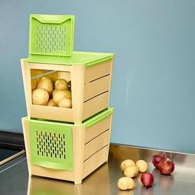 Die moderne Hausfrau Úložný box na brambory a zeleninu