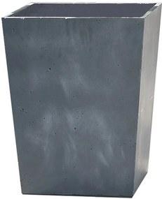 KETER BETON CONIC HIGH Kvetináč, 40 x 55 cm, tmavo sivý 17208364