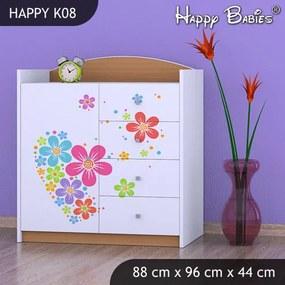 Komoda Happy Buk K08
