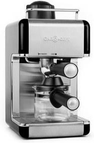 oneConcept Sagrada Nera, 800 W, 3,5 bar, 4 šálky, stroj na espresso, nerezová oceľ