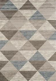Festival koberce Kusový koberec Rixos K11610-01 Grey Blue (630 silver) - 120x170 cm
