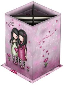 Santoro ružový stojan na perá Gorjuss Sparkle&Bloom You Can Have Mine