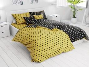Bavlnené obliečky 7 dielne Colam žlté