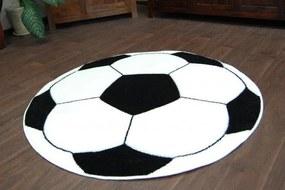MAXMAX Detský koberec KOPAČÁK biely
