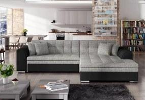 Expedo Rohová rozkladacia sedačka PALERMO, 294x80x196 cm, berlin 01/soft 11, pravá
