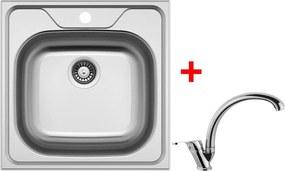 Set Sinks CLASSIC 480 V matný + batéria EVERA