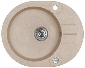 ALVEUS ROLL 40 kuchynský drez granitový, 595 x 475 mm, beige 1090973