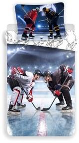 JERRY FABRICS Obliečky Ľadový Hokej Bavlna, 140/200, 70/90 cm