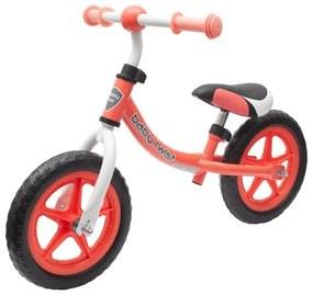 BABY MIX Nezaradené Detské odrážadlo bicykel Baby Mix TWIST coral red Červená |