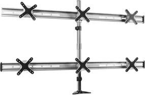 Auna ET01-C06 stolový stojan pre 6 monitorov, < 6x8kg