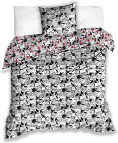 Tiptrade Detské saténové obliečky Kocúr Sylvester, 140 x 200 cm, 70 x 90 cm