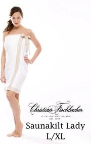 Christian Fischbacher Dámsky sarong do sauny L/XL Dreamflor®, Fischbacher