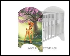 Detská postieľka Bambi - Disney