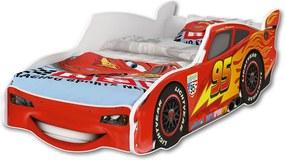 DO Auto Mcqueen 160x80 posteľ auto