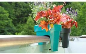 Prosperplast Kvetináč na zábradlie Lofly Railing terakota, 24,5 cm, 24,5 cm