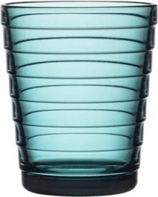 Poháre Aino Aalto 0,22l, 2ks, sea blue Iittala