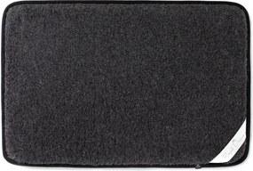 Čierna podložka z merino vlny pre domáceho miláčika Royal Dream, šírka 120 cm