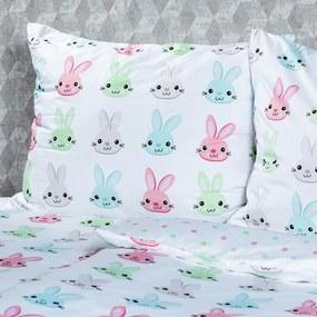 4Home Obliečky Bunny micro, 140 x 200 cm, 70 x 90 cm