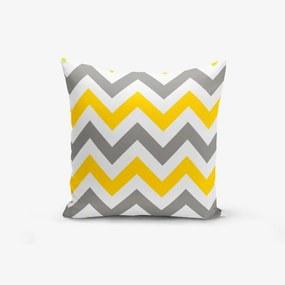 Obliečky na vankúš s prímesou bavlny Minimalist Cushion Covers Scandisimo, 45 × 45 cm