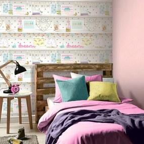 Arthouse Tapeta na stenu - Girl's Life Multi Girl's Life Multi