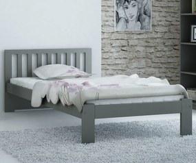 AMI nábytok Postel DMD2 90x200cm šedá