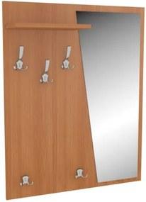 Vešiak na bundy so zrkadlom Zella - ľavý