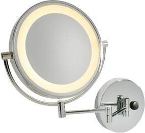 Kúpeľňové svietidlo SLV Kosmetické nástěnné zrcátko VISSARDO, 3000K 149782