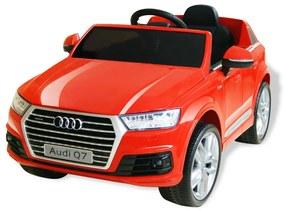 Elektrické autíčko Audi Q7, červené, 6 V