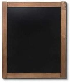 Kriedová tabuľa Classic, tík, 50 x 60 cm
