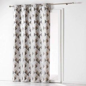 Zatemňující závěs Douceur d'Intérieur Rideau šedý - 140x260 cm