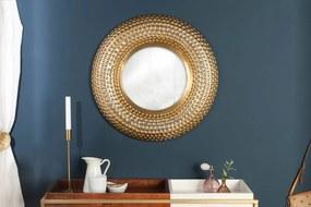 Nástenné zrkadlo Alijah 60 cm zlaté