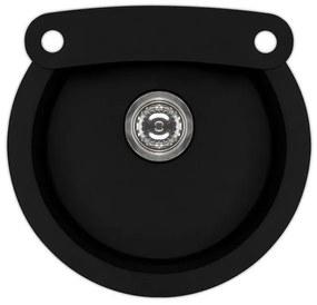 ALVEUS ROLL 10 granitový drez, 530 mm, čierna 91 1090969