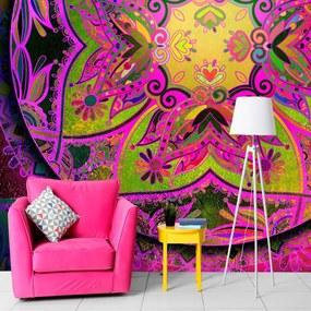 Fototapeta ružová Mandala - Mandala: Pink Expression