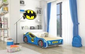 Detská posteľ 160x80 cm Batcar