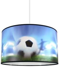 Lampdar Detský luster na lanku FOOTBALL 1xE27/60W/230V SA1092