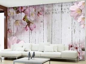 Murando DeLuxe Tapeta květy jabloní 150x105 cm