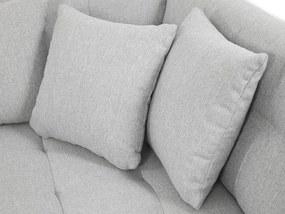 Luxusní sedačka ve tvaru U Bravo, hnědá    Roh: Orientace rohu Pravý roh