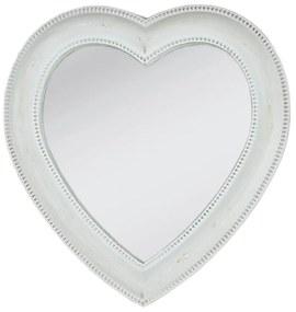 Zrkadlo vo tvaru srdca - 27 * 28 cm