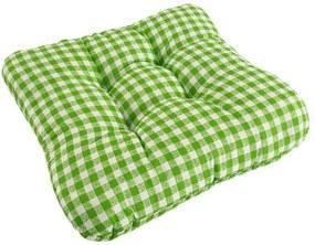 Podložka na stoličku Kanafas zelená