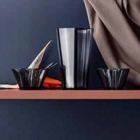 Váza Alvar Aalto 220mm, tmavo sivá Iittala