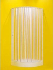 HOPA - Sprchový kout LUNA - 185 cm, 75 - 90 cm × 75 - 90 cm, Univerzální, Plast bílý, Polystyrol (OLBLUN90C)