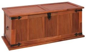 vidaXL Úložná truhlica 90x45x40 cm masívne akáciové drevo