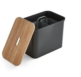 Odpadkový kôš na triedenie odpadu SmartStore™, 76 L, čierny