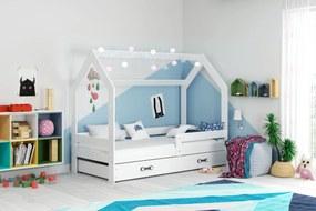 Domčeková posteľ DOMČEK 160x80cm - Biela - Biela