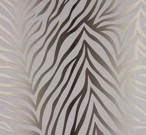 Vliesové tapety, zebra vzor hnedý, NENA 57265, MARBURG, rozmer 10,05 m x 0,53 m